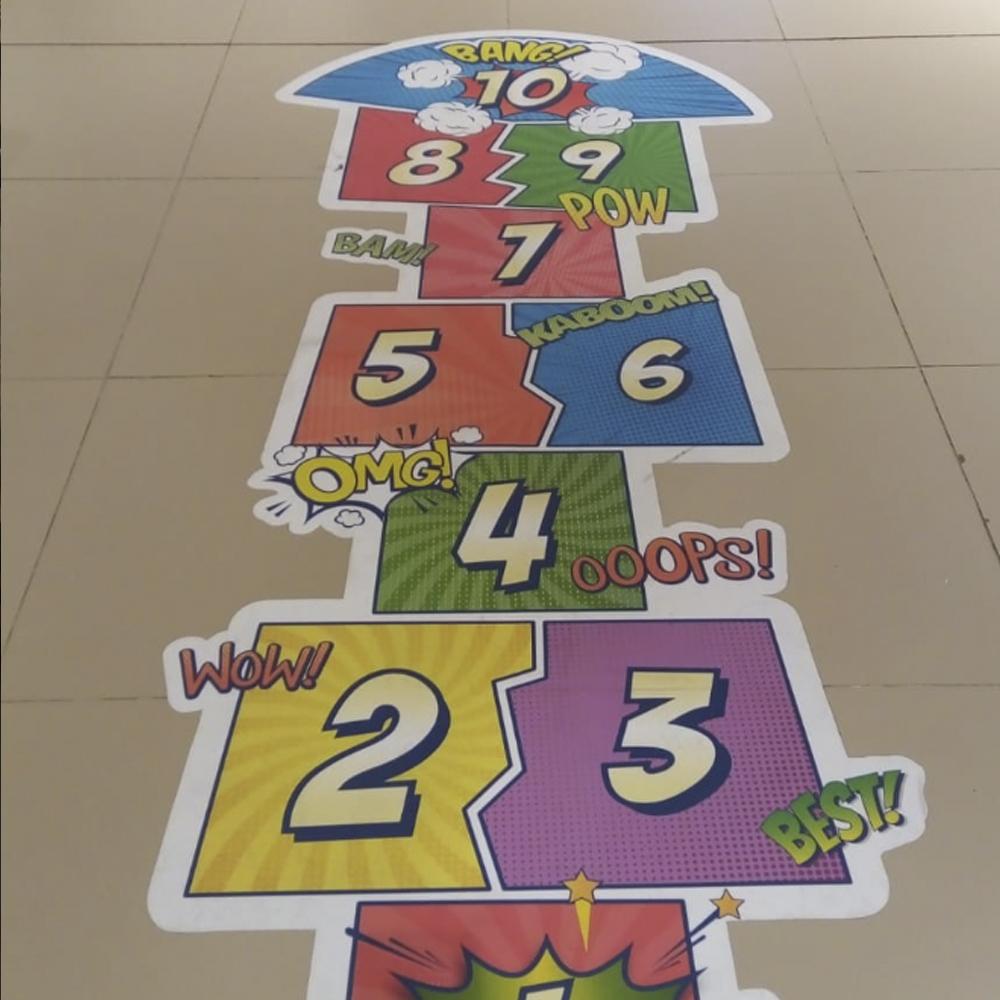campaña para niños floorgraphics